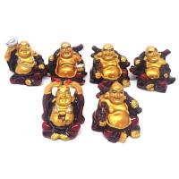 Jogo de 6 Budas Mini Sentado
