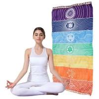 Tapete para Yoga e Meditação 7 Chakras Médio