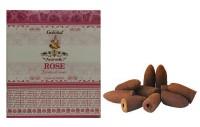 Incenso Cone Para Cascata Goloka Rose Massala