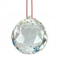 Esfera de Cristal Facetada Boreal 30