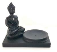 Incensario Buda com Cristal
