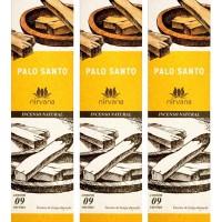 Incenso Nirvana Natural Palo Santo (KIT 3 CAIXAS)
