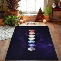 Tapete Toalha para Yoga e Meditação Arco Iris 7 Chakras #3