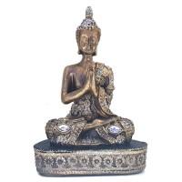 Buda Reverenciando com Pedra Chaton