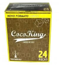 Carvão Coco King Cubo C/24