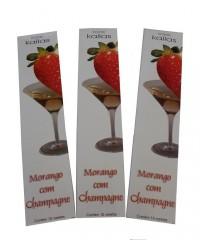 Incenso Kailas Morango Com Champagne (kit 10 Unidades)