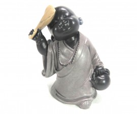 Estatua Monge Budista em Resina