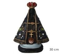 Estatua Nossa Senhora Aparecida 30cm