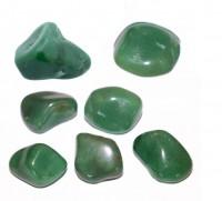 Pedra Quartzo Verde para Massagem 4 a 6 cm (Kit 7 unidade)