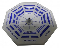 Incensário Vertical Baguá Azul