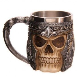 Caneca Medieval Cerveja Hell Knight 400ml - Game of Thrones