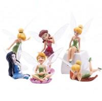 Estatua de Fadas em Miniaturas (KIT 6 UNIDADES)