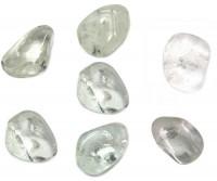 Pedra Quartzo Transparente para Massagem 4 a 6 cm (Kit 7 unidade)