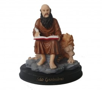 Estatua São Geronimo Resina