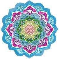 Tapete Toalha Mandala para Yoga e Meditação Circular #2