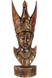 Buda Dourado com pássaro 65 cm