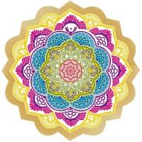 Tapete Toalha Mandala para Yoga e Meditação Circular #3