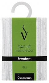 Sachê Perfumado Via Aroma 30g Bamboo