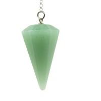 Pêndulo de Pedra Quartzo Verde