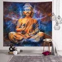 Pano de Parede Buda Sidarta Abençoando 1,50cm X 1,30cm