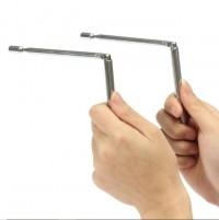 Dual Rod Radiestésia Aço Inoxidável Varetas Radiestésicas