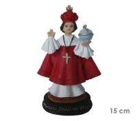 Estatua Menino Jesus de Praga 15cm