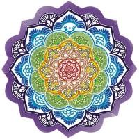 Tapete Toalha Mandala para Yoga e Meditação Circular #5