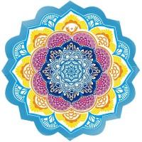 Tapete Toalha Mandala para Yoga e Meditação Circular #1