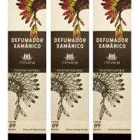 Incenso Nirvana Natural Xamanico (KIT 3 CAIXAS)