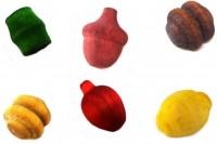 Frutinha Aromática de Madeira (25 unidades Sortidas)