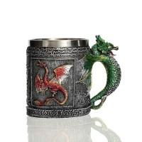 Caneca Medieval Cerveja Dragon Mug 400ml - Game of Thrones