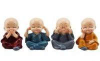 Monge Budista Coloridos (KIT 4 UNIDADES)