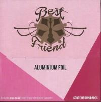 Papel Alumínio Foil Best Friend Meninas Também Fumam Grande