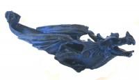 Incensario Dragão Azul
