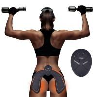 Estimulador Elétrico Muscular Abdômen/Bíceps/Nádegas