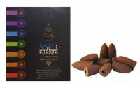 Incenso Cone Para Cascata Goloka Chakras Massala