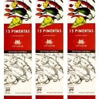Incenso Nirvana Natural Treze Pimenta (KIT 3 CAIXAS)