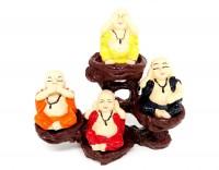 Buda Quarteto Com Suporte Resina