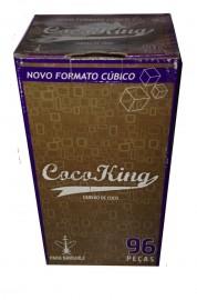 Carvão Coco King Cubo C/96