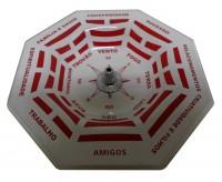 Incensário Vertical Baguá Vermelho