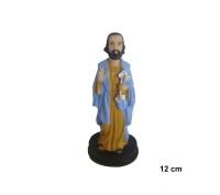 Estatua São Pedro 12cm