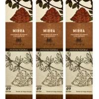 Incenso Nirvana Natural Mirra (KIT 3 CAIXAS)