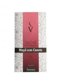 Sachê Perfumado Via Aroma 10g Maça com Canela