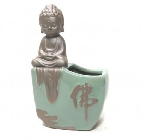 Vaso Monge Budista Meditando