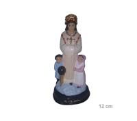 Estatua Nossa Senhora da Salete 12cm