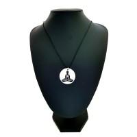 Cordão Símbolo Madrepérola Buda Yoga